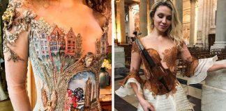Sylvie Facon navrhuje a tvorí originálne šaty ako nikto iný! NÁDHERA!
