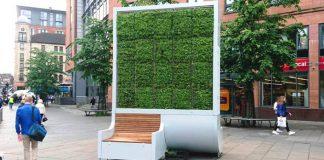 Ekologická lavička CityTree slúži ako filter vzduchu v mestách