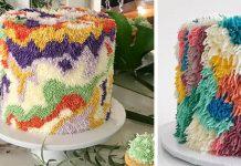 Huňaté torty pripomínajú koberce   Alana Jones-Mann