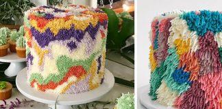 Huňaté torty pripomínajú koberce | Alana Jones-Mann