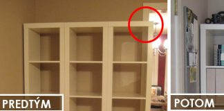 Premena IKEA nábytku - policových dielov KALLAX | DIY nápad a návod