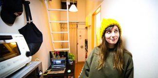 Byt s 8 m² pripomína chodbu, Emma však našla spôsob ako v ňom žiť!