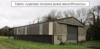 Stará stodola premenená na luxusné bývanie | Premena stodoly na dom