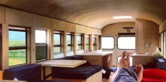 obývateľný autobus
