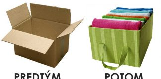 Úložný box vyrobený z kartónovej krabice | DIY návod