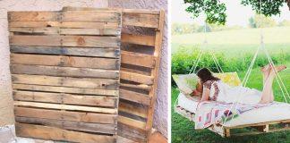Hojdacia posteľ z paliet | Originálny nápad ako využiť staré drevené palety