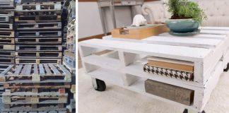 Konferenčný stolík z palety | Kreatívny DIY nápad a návod ako na to