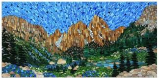 krajinka v mozaike