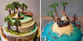 svadobné rozprávkové torty