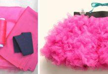 TuTu suknička pre malé princezné   DIY návod ako ušiť tutu sukňu
