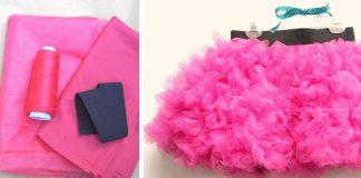 TuTu suknička pre malé princezné | DIY návod ako ušiť tutu sukňu
