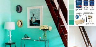 Steny v ombré štýle | DIY nápad a návod ako vymaľovať izbu