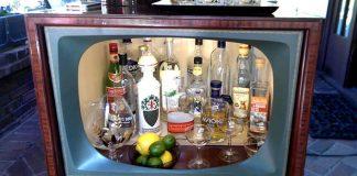 Domáce bary zo starých nefunkčných televízorov | Upcyklácia televízora