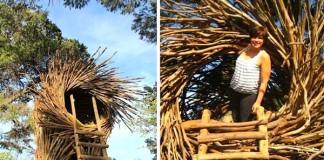 Jayson Fann tvorí hniezda pre ľudí