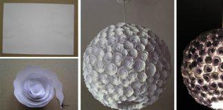 DIY návod na tienidlo z papierových ružičiek | Test trpezlivosti