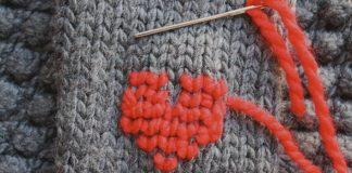 Kreatívny spôsob ako oživiť sveter výšivkami | Urob si sama