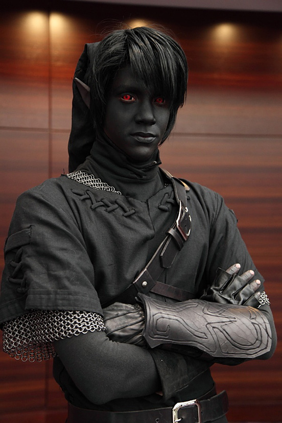 halloweensky kostym Dark Link Cosplay