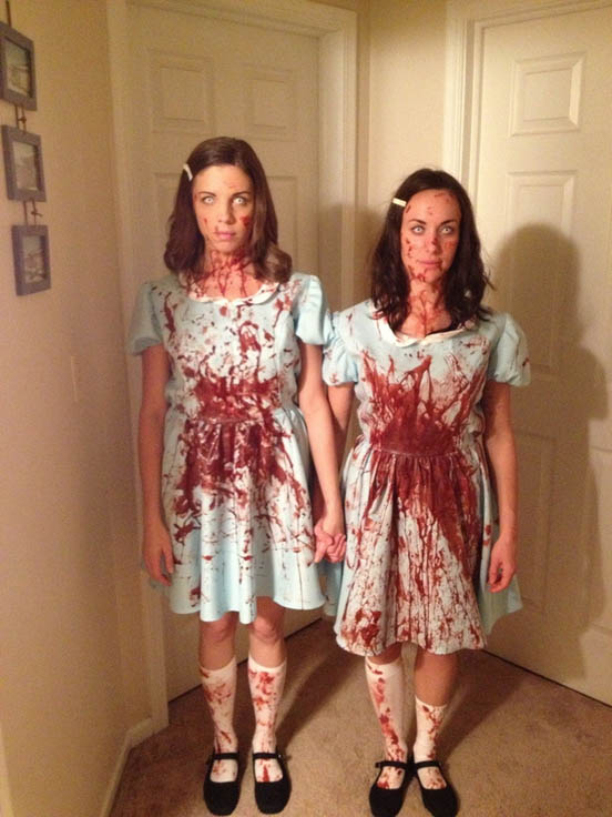 halloweensky kostym The Grady Twins