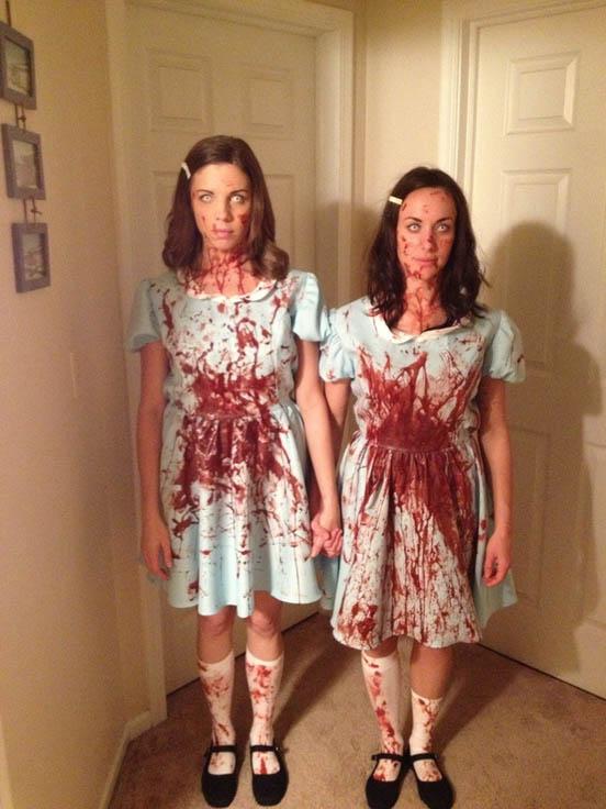 halloweensky kostym The Grady Twins