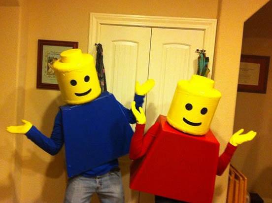 halloweensky kostym costume-lego-minifigs-cardboard