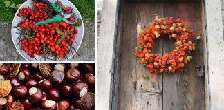 Jesenné vence, ktoré vyrobíte z prírodných materiálov | Nápady a návody