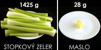 Takto vyzerá 200 kalórií rôznych druhov potravín | 25 druhov potravín