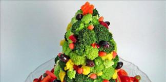 stromček zo zeleniny