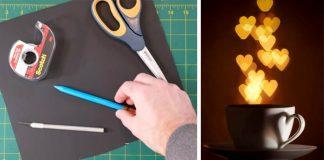 Návod ako si vytvoriť bokeh filtre z papiera | DIY nápad pre fotografov