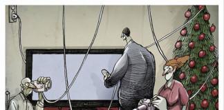 Výstižné karikatúry kritizujúce dnešný svet | Angel Boligan