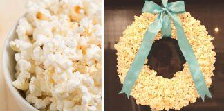 Veniec z popcornu | DIY návody na 2 spôsoby