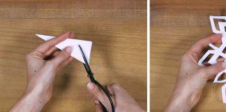 Snehové vločky z papiera | DIY vianočné návody a šablóny