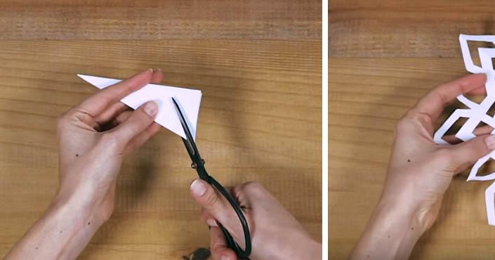 071c98cfa Snehové vločky z papiera | DIY vianočné návody a šablóny