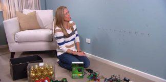 Vianočné stromčeky na stenu | Kreatívne DIY nápady na Vianoce