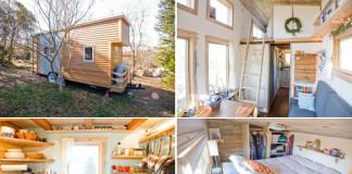 Dômyselne navrhnutý malý domček na kolesách | Alek Lisefski