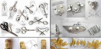 Victor Nunes a jeho úžasné ilustrácie bežných predmetov