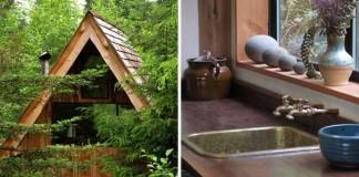 Muž postavil dom za 8,000€, použil materiál z miestnych zdrojov