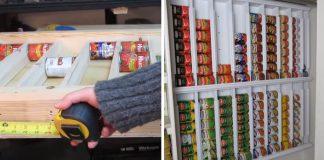 Ako skladovať konzervy | DIY nápad s návodom na skladovací systém