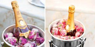 Ruže v kockách ľadu | Návod na romantický nápad na Valentína