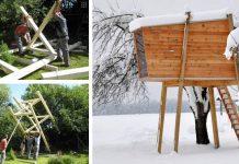 Ako postaviť vyhliadkový domček pre deti | Plány na detský domček