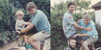 Bratia nafotili veselé okamihy z detstva znovu ako dospelí