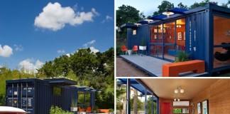 Premena kontajnera na domček pre hostí | Eko bývanie