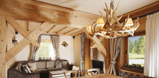 Rustikálny drevený apartmán v Taliansku prekvapuje detailami