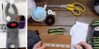 Handmade hračka z ponožky pre deti | Ako premeniť ponožku na hračku