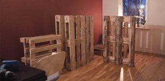 Pohovka z paliet | DIY nápad ako premeniť drevené palety na pohovku