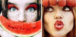 Cristina Otero a jej šťavnaté fotografie autoportrétov Tutti Frutti