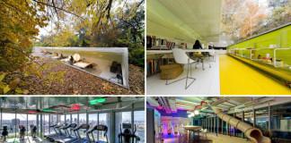 Najkrajšie kancelárie na svete | 11 úžasných kancelárií