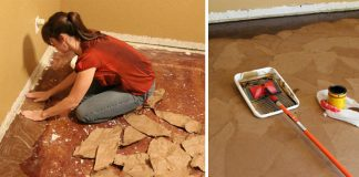 Podlaha z papierových sáčkov | Návod na papierovú podlahu
