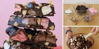 Nepečená čokoládová tyčinka