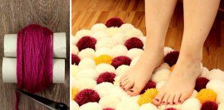 Koberec z brmbolcov | Návod na brmbolce a brmbolcový koberec