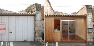 Premena garáže na útulný domov